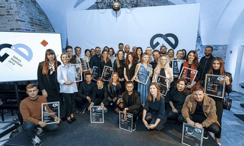 """Aštuntus metus iš eilės rengiamam konkursui """"Geras dizainas"""" gauta daugiau kaip 250 paraiškų, geriausi dizaino darbai buvo renkami 10-yje kategorijų."""