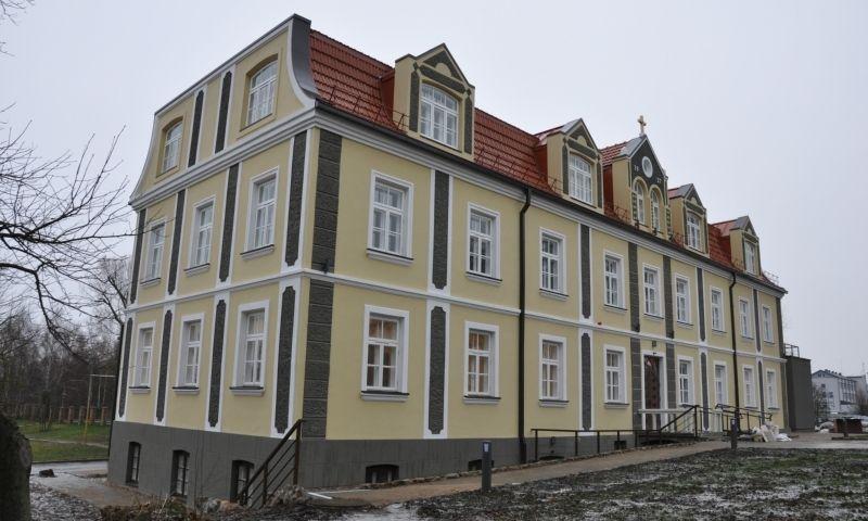 Marijonų spaustuvės ir bibliotekos pastatas Marijampolėje. Kultūros paveldo departamento nuotr.
