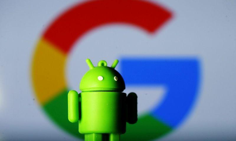 """""""Android"""" šiuo metu užima 76,2% mobiliųjų operacinių sistemų rinkos. Dado Ruvic  (""""Scanpix""""/""""Reuters"""") nuotr."""