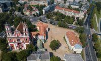 Šv. Jokūbo ligoninės teritorijos Vilniuje plėtros konkursas sulaukė 12 projektų