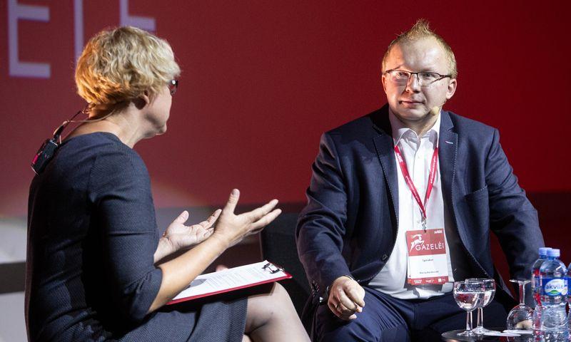 """Maciejus Bartkovskis, """"Grupa MND"""" verslo plėtros vadovas. Vladimiro Ivanovo (VŽ) nuotr."""