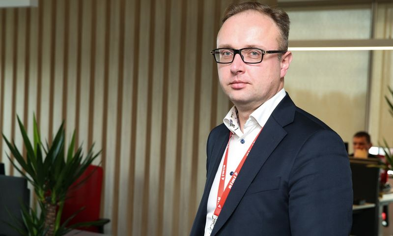 """Giedrius Bandzevičius, """"Rimi Lietuvos"""" generalinis direktorius. Vladimiro Ivanovo (VŽ) nuotr."""