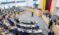 Kitąmet Seimo kanceliarijaplanuojasi5,2 mln.Eur didesnį biudžetą