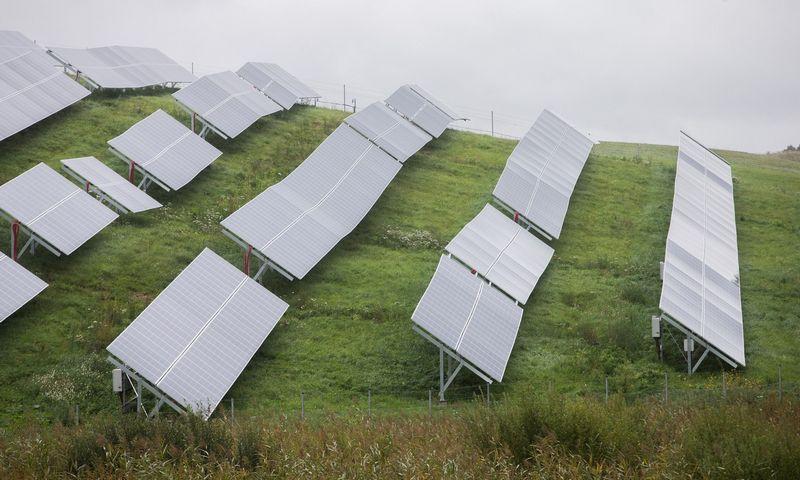 Saulės elektrinės. Vladimiro Ivanovo (VŽ) nuotr.