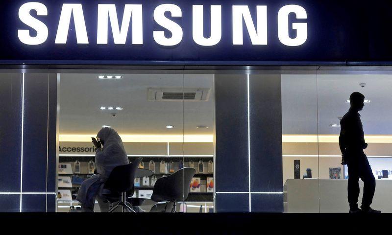 """Kompanija """"Samsung"""" pranešė, kad uždaro savo paskutinę gamyklą Kinijoje. ADNANo abidi (""""Reuters"""" / """"Scanpix"""") nuotr."""