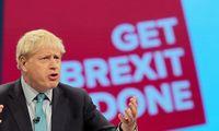 """B. Johnsonas ES pateikė paskutinį""""Brexit"""" pasiūlymą"""