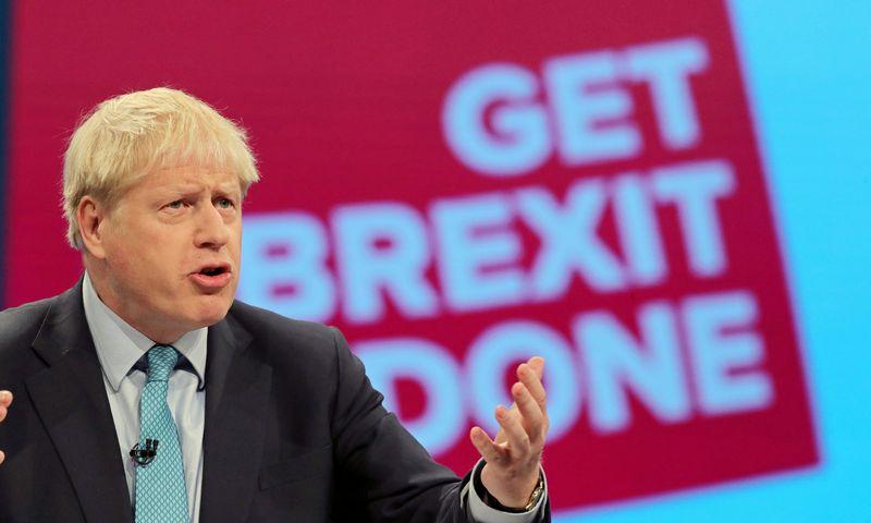 """Borisas Johnsonas, Jungtinės Karalystės premjeras. Danny Lawson (""""Reuters"""" / """"Scanpix"""") nuotr."""