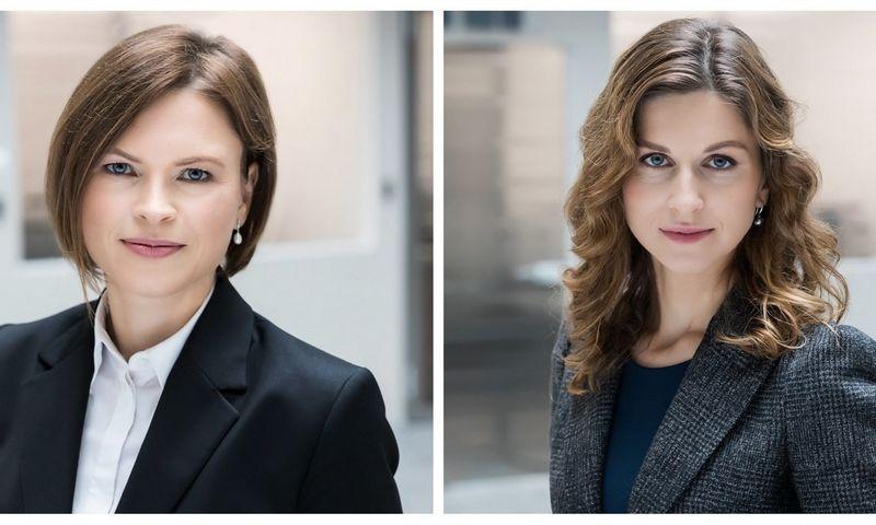 """""""Averus"""" asocijuotoji partnerė Lina Taletavičiūtė–Misiūnienė (kairėje) ir """"Averus"""" partnerė Jurgita Venckutė. Kontoros nuotr."""