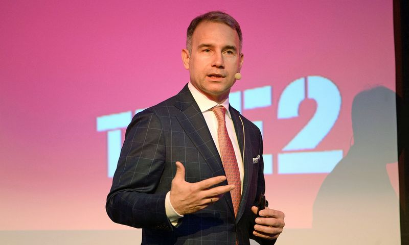 """Petras Masiulis, """"Tele2"""" generalinis direktorius Baltijos šalims: """"Tikėjimas motyvuoja ir lyderį, ir jo komandą."""" Aušros Barysienės nuotr."""