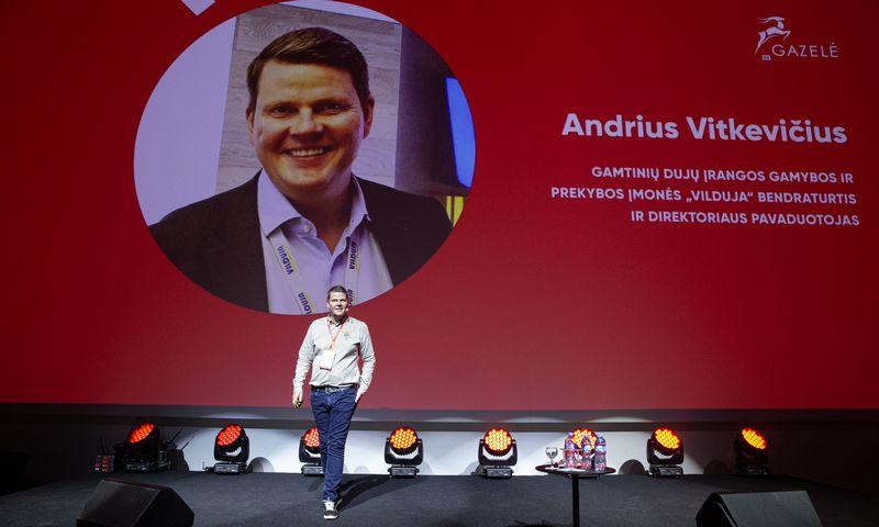 """Andrius Vitkevičius, UAB """"Vilduja"""" direktoriaus pavaduotojas: """"Smagiausia, kai patys darbuotojai pradeda siūlyti, kaip efektyvinti veiklą."""" Vladimiro Ivanovo (VŽ) nuotr."""