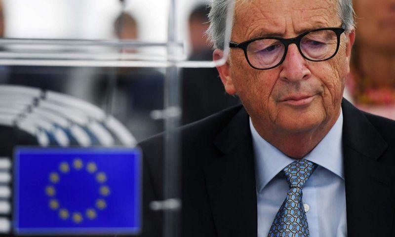 """Jeanas Claude'as Junckeris.  Frederico Florino (""""AFP"""" / """"Scanpix"""") nuotr."""