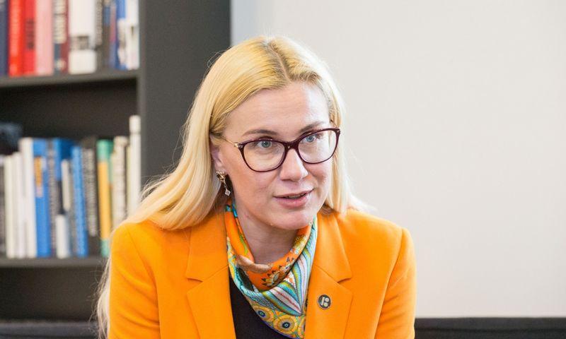 Kadri Simson, Į energetikos eurokomisarus deleguojama Estijos politikė. Juditos Grigelytės (VŽ) nuotr.