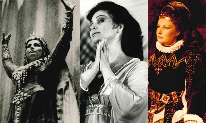 Operos solistė Gražina Apanavičiūtė (1940-2019).