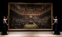 Banksy paveikslas parduotas už 11 mln. Eur