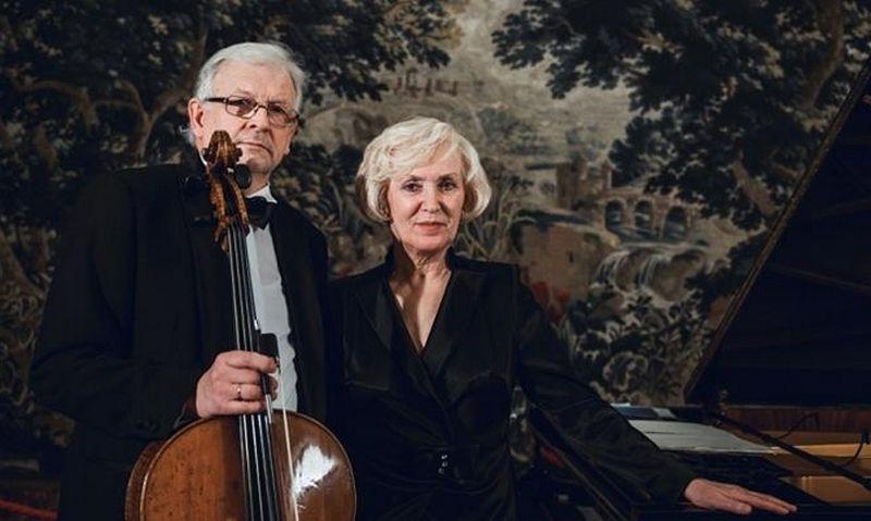 Rimanto Armono ir Irenos Uss muzikavimas pirmiausia papirko muzikinių įvaizdžių vienybe. filharmonija.lt nuotr.