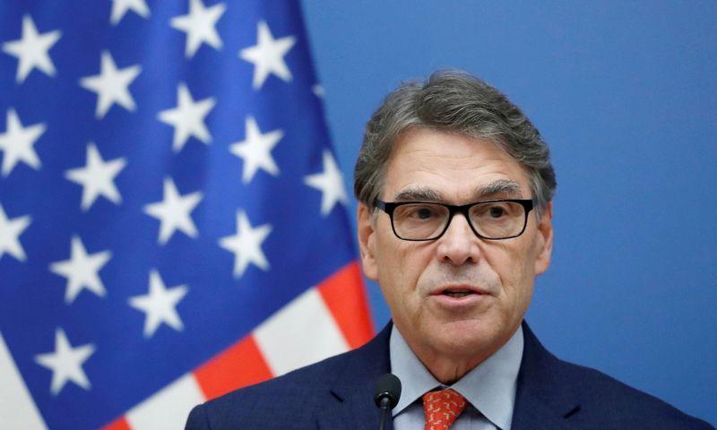 "Rickas Perry, JAV Energetikos sekretorius. Bernadett Szabo (""Reuters"" / ""Scanpix"") nuotr."