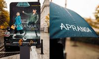 """""""Aprangos"""" komunikacijos kampanija – su darbuotojais ir nemokamais skėčiais"""