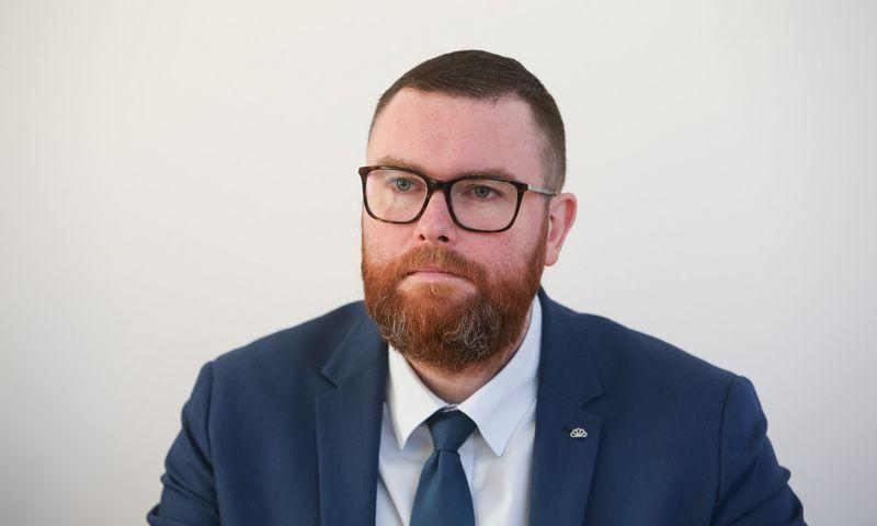 Finansų analitikas Marius Dubnikovas. Vladimiro Ivanovo (VŽ) nuotr.