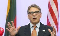 R. Perry Vilniuje: JAV dujos Europai atneša daugiau laisvės ir konkurencijos