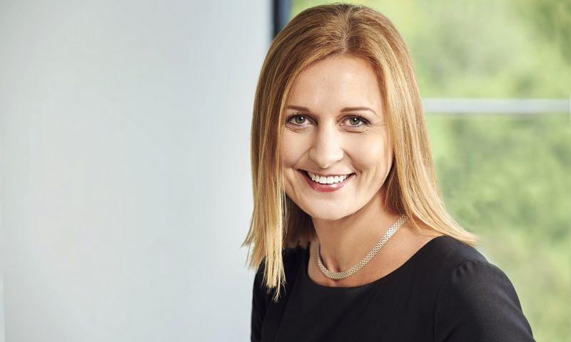 """""""Danske Bank"""" Globalių paslaugų centro Lietuvoje vadovė Rosita Vasilkevičiūtė."""