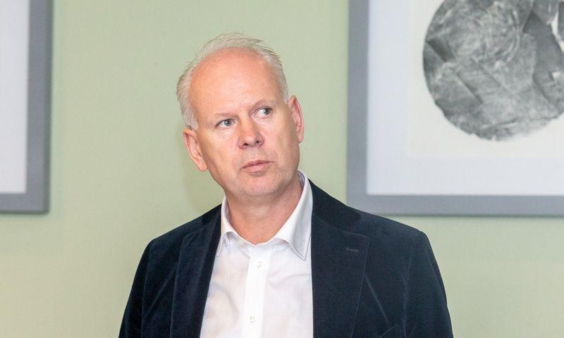 """Rolandas Viršilas, """"Švyturys-Utenos alus"""" ir """"Carlsberg"""" grupės Baltijos šalyse vadovas. Juditos Grigelytės (VŽ) nuotr."""