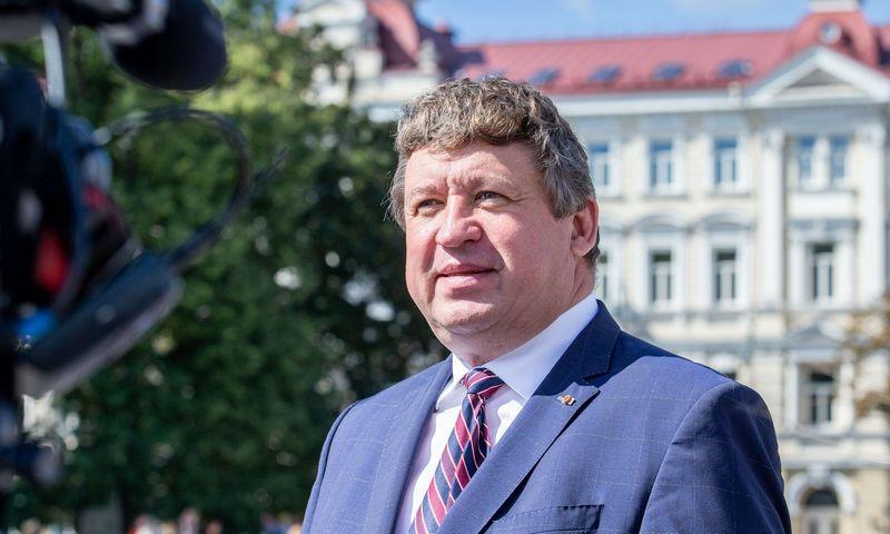 Raimundas Karoblis, Krašto apsaugos ministras. Juditos Grigelytės (VŽ) nuotr.