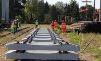 """""""Geležinkelio tiesimo centras"""" sumažino kapitalą penktadaliu iki 31,8 mln. Eur"""