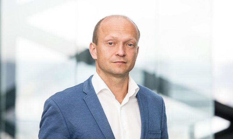 """Nerijus Mačiulis, """"Swedbank"""" vyriausiasis ekonomistas.Juditos Grigelytės (VŽ) nuotr."""