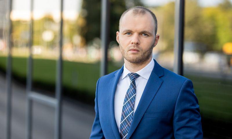 Justinas Gataveckas, SEB privačiosios bankininkystės departamento investavimo strategijos vadovas. Asmeninė nuotr.