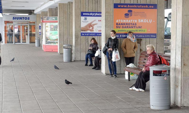 Vilniaus autobusų stotis. Vladimiro Ivanovo (VŽ) nuotr.