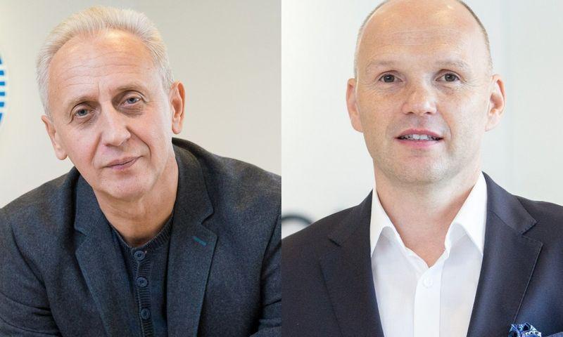 Voldemarą Dudėną (kairėje) pakeitė Mariuszas Plaweckis. Juditos Grigelytės (VŽ) nuotr.
