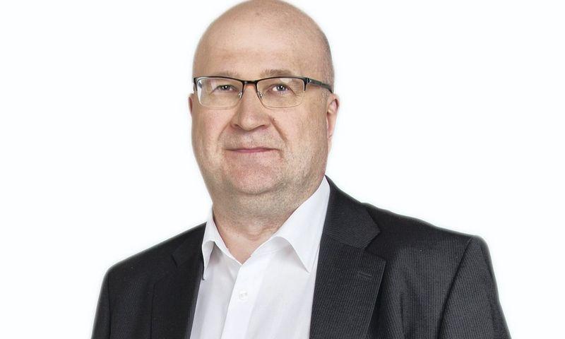 """""""Grant Thornton Baltic"""" finansų konsultacijų vadovas Vaidas Repečka."""