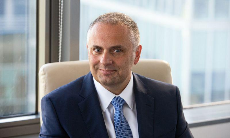 """""""Šiandien įmonės ir fiziniai asmenys gali nemokamai pasitikrinti """"Creditinfo"""" paruoštas kredito ataskaitas, sužinoti savo kredito reitingą"""", – pasinaudoti proga kviečia Linas Čereška, """"Creditinfo"""" vadovas.  Vladimiro Ivanovo (VŽ) nuotr."""
