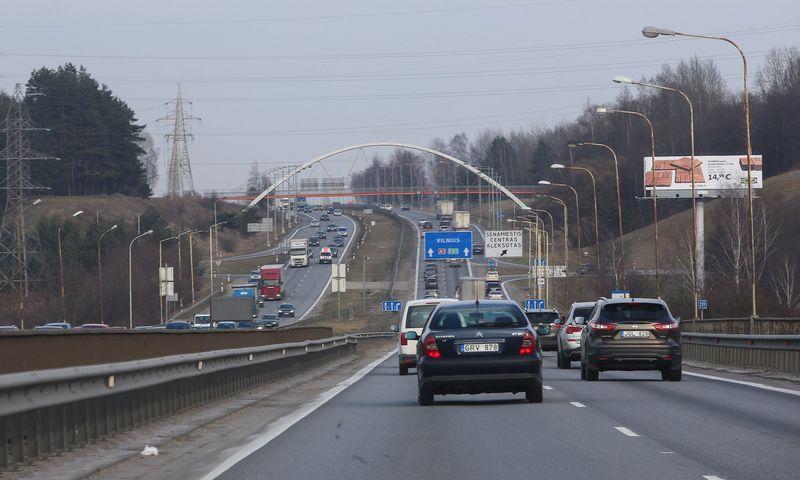 Kelias Kaunas - Vilnius. Vladimiro Ivanovo (VŽ) nuotr.