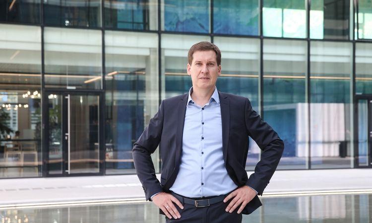 """Raimondas Reginis, UAB """"Ober-haus"""" rinkos tyrimų vadovas Baltijos šalims. Vladimiro Ivanovo (VŽ) nuotr."""