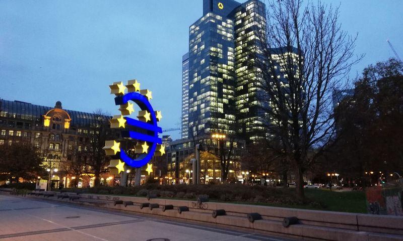 Frankfurtas, Vokietijos finansų centras. Pauliaus Čiulados (VŽ) nuotr.
