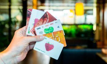 Prekybos tinklų kortelės – vos ne kiekvieno kišenėse