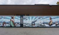 Su piešiniais ant siuntų terminalų taiko į aplinkosaugos temą