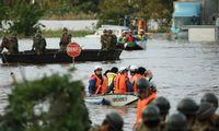 Per taifūną Hagibį Japonijoje žuvo dvi dešimtys žmonių
