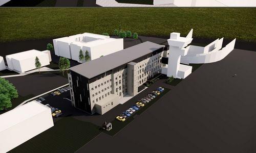 Vilniaus oro uoste ruošia administracinio pastato rekonstrukciją
