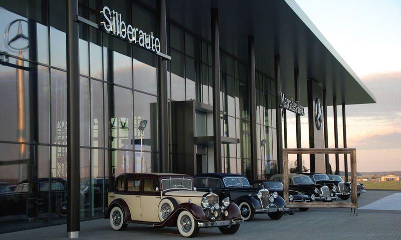"""""""Silberauto"""" salonas Klaipėdoje. Mildos Ancevičės nuotr."""