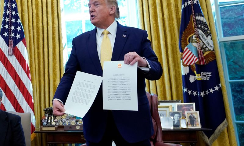 "Donaldas Trumpas, JAV prezidentas. Yurijaus Gripas (""Reuters"" / ""Scanpix"") nuotr."