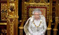 JK karalienė pristatė vyriausybės tikslus
