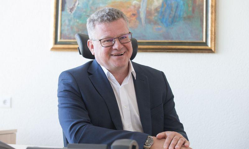 """Algimantas Markauskas, UAB """"Thermo Fisher Scientific Baltics"""" generalinis direktorius. Juditos Grigelytės (VŽ) nuotr."""