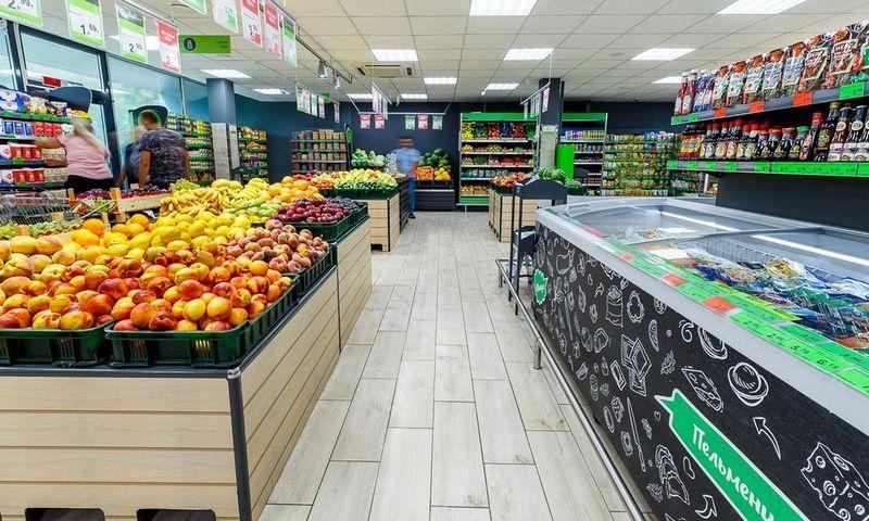 """Baltarusijos prekybos tinklo """"Eurotorg"""" parduotuvė. Įmonės nuotr."""