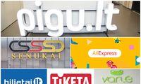 TOP 10 lankomiausių e. parduotuvių Lietuvoje