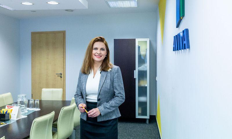 """Asta Grabinskė, gyvybės draudimo ir pensijų UAB """"Aviva Lietuva"""" generalinė direktorė ir valdybos pirmininkė. Juditos Grigelytės (VŽ) nuotr."""