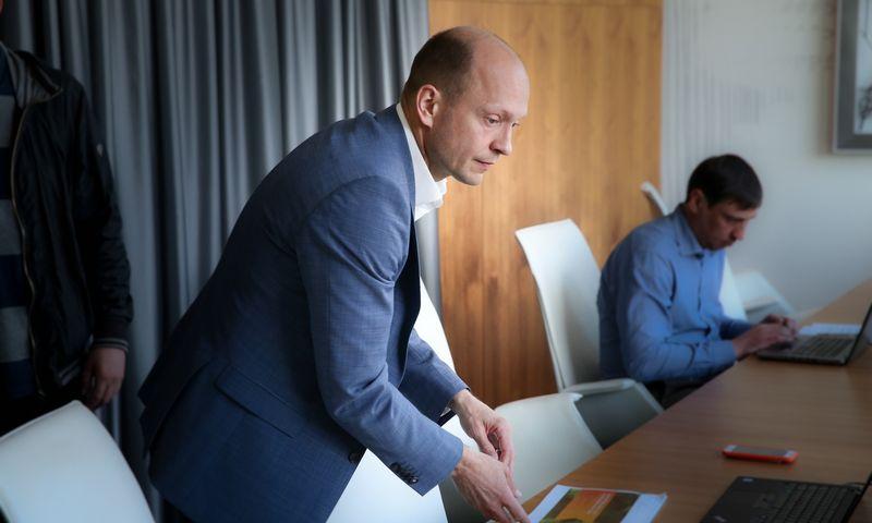"""Nerijus Mačiulis, """"Swedbank"""" vyriausiasis ekonomistas., Vladimiro Ivanovo (VŽ) nuotr."""