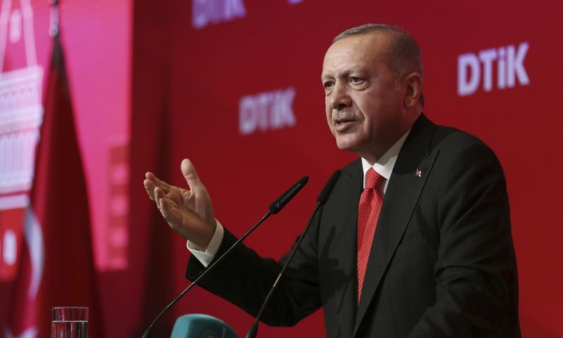 "Recepas Tayyipas Erdoganas, Turkijos prezidentas. (""AP""/""Scanpix"") nuotr."