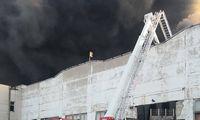 Dėl gaisro Alytuje paskelbta ekstremali padėtis, ugnis dar nelokalizuota